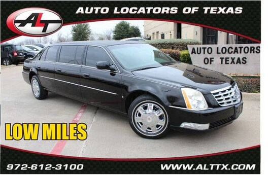 2007 Cadillac DTS Professional (fleet-only) LIMO Plano TX