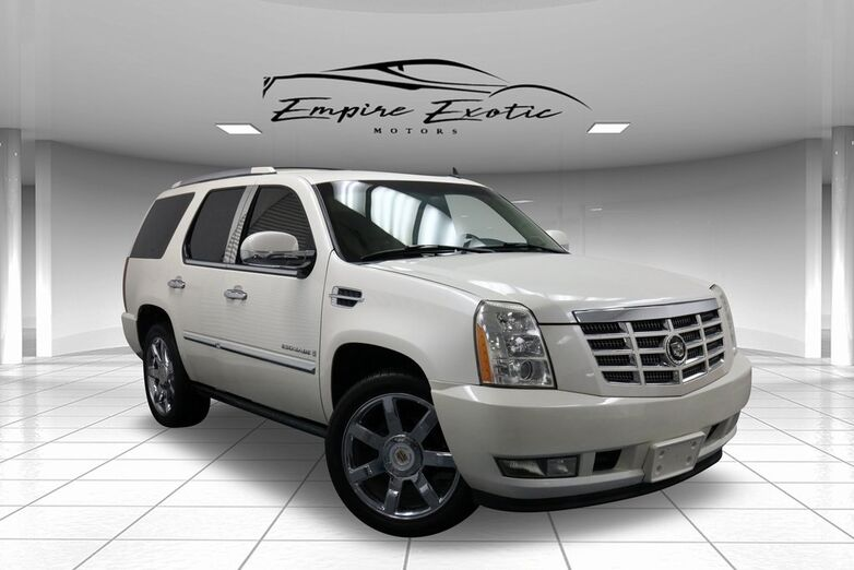 2007 Cadillac Escalade *NAVIGATION, REAR DVD & CAPTAINS, PWR RUNNING BOARDS* Addison TX