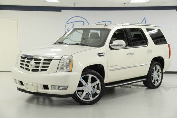 2007_Cadillac_Escalade_Navigation Sunroof Captain Seating 22 Wheels_ The Colony TX