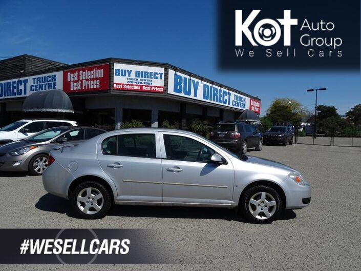 2007 Chevrolet Cobalt LT w/1SA, Manual Transmission, Fuel Efficient Kelowna BC