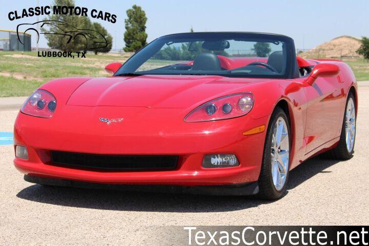 2007 Chevrolet Corvette Convertible Lubbock TX