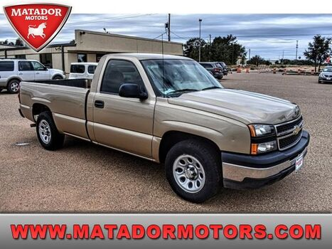 2007_Chevrolet_Silverado 1500 Classic_Work Truck_ Lubbock & Wolfforth TX