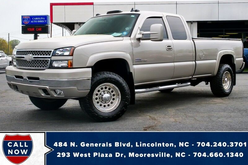 2007 Chevrolet Silverado 2500HD Classic W/T LT1 4X4 *Duramax*Long Bed*Turbo Kit* Mooresville NC