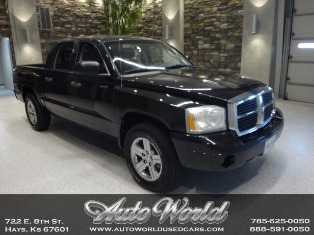 2007 Dodge DAKOTA QUAD CAB SLT 4X2  Hays KS