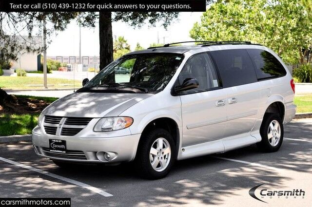2007 Dodge Grand Caravan Wheelchair Accessible! LOW Miles, $20,000+ Custom Mobility Wheelchair Access! Fremont CA