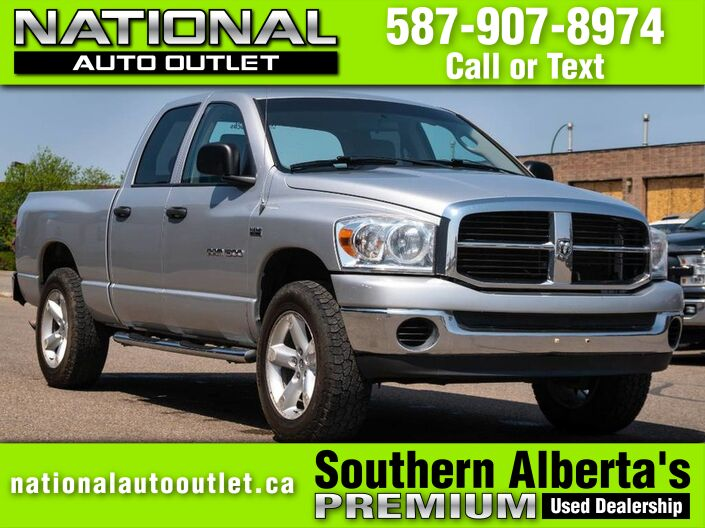 2007 Dodge Ram 1500 SLT - CLEAN CAR PROOF Lethbridge AB
