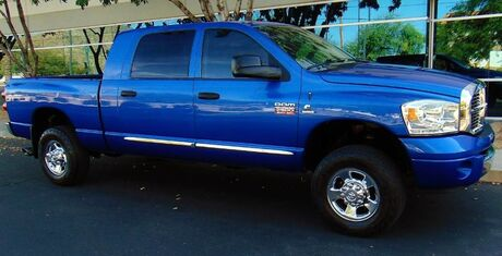 2007 Dodge Ram 2500 MEGA CAB 4x4 LARAMIE 163K MILES 6.7L CUMMINS DIESEL RARE ELECTRIC BLUE GREY LEATHER Phoenix AZ