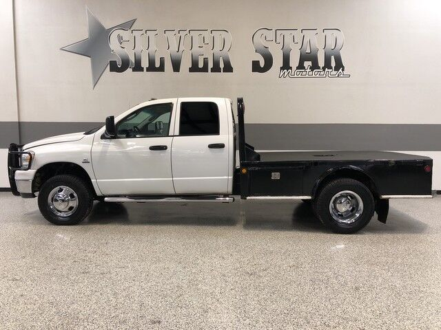 2007 Dodge Ram 3500 DRW 4WD FlatBed Cummins Dallas TX