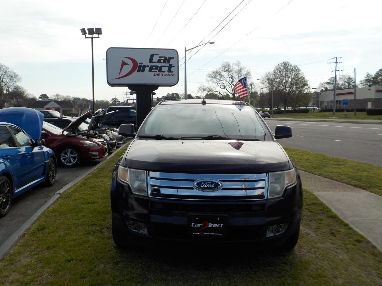 2007 FORD EDGE SEL PLUS AWD, WARRANTY, PANO ROOF, PARKING SENSORS, NAVIGATION, HEATED SEATS, BLUETOOTH, LEATHER! Virginia Beach VA