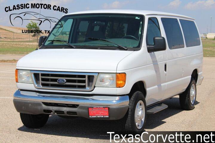 2007 Ford Econoline Wagon XL Lubbock TX