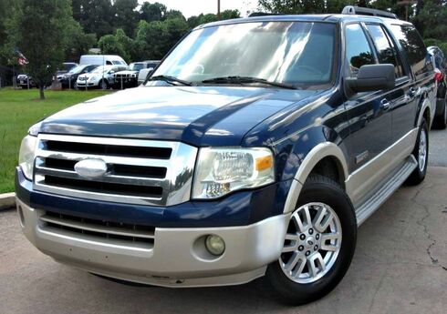 2007 Ford Expedition EL Eddie Bauer - w/ NAVIGATION & LEATHER SEATS Lilburn GA