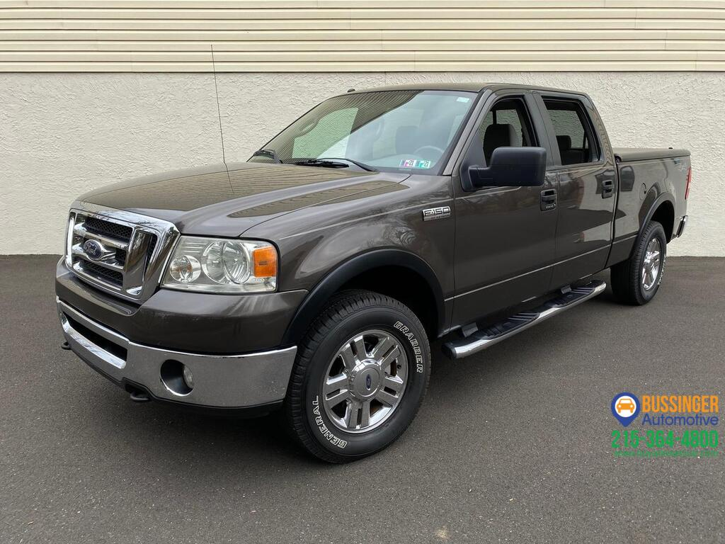 2007 Ford F-150 SuperCrew - XLT 4x4 Feasterville PA