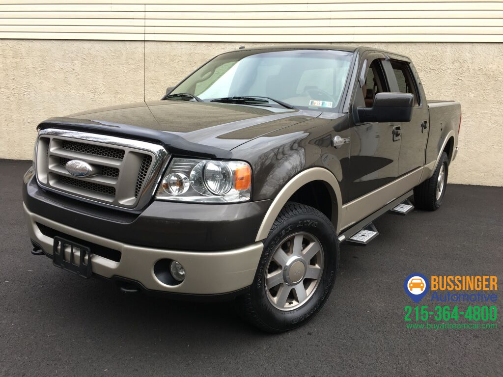 2007 Ford F150 SuperCrew King Ranch - 4x4 Feasterville PA