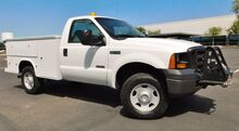 2007_Ford_F350 SUPER DUTY 4X4 UTILITY SERVICE BED RUST FREE_POWERSTROKE TURBO DIESEL LOW 86K FLEET MAINTAINED_ Phoenix AZ