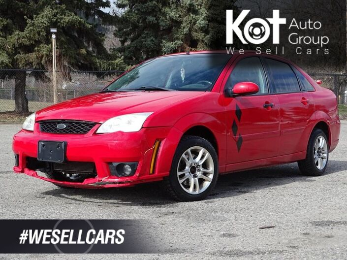 2007 Ford Focus ST, Manual Transmission, Hammer Spoiler, No Accidents! Kelowna BC