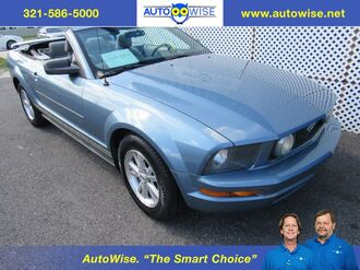 2007_Ford_Mustang PONY CONVERTIBLE_Deluxe_ Melbourne FL