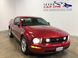 2007_Ford_Mustang_PREMIUM LEATHER SEATS AUTOMATIC SHAKER SOUND SYSTEM POWER DRIVER SEAT_ Addison TX