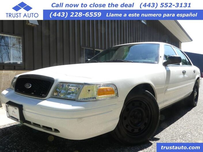 2007 Ford Police Interceptor Base Sykesville MD
