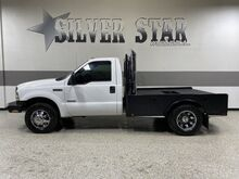2007_Ford_Super Duty F-350 DRW_XL Regular Cab FlatBed Powerstroke_ Dallas TX