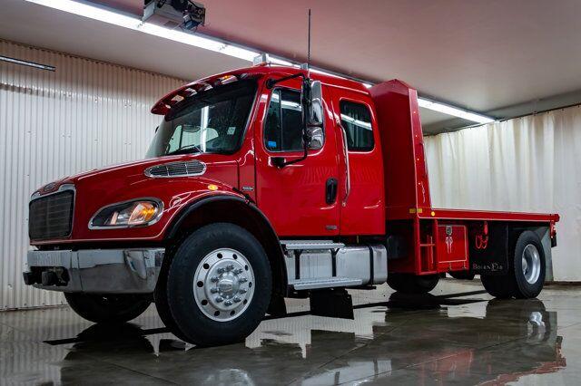 2007 Freightliner M2 106 S/A Sleeper Deck Truck Red Deer AB