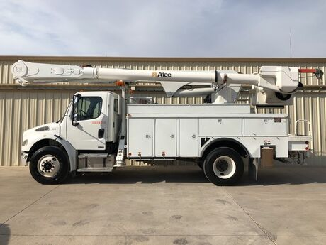 2007 Freightliner M2 Business Class Bucket Truck Altec AM55 Dallas TX