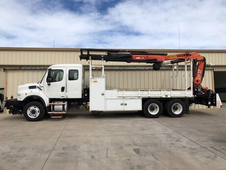 2007 Freightliner M2 Business Class Palfinger Crane PK 21502 Dallas TX