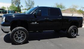 2007_GMC_2500HD SIERRA CREW SB SLT PKG 4w_6.6 DURAMAX DIESEL LIFTED PWR STEPS BULLY DOG_ Phoenix AZ