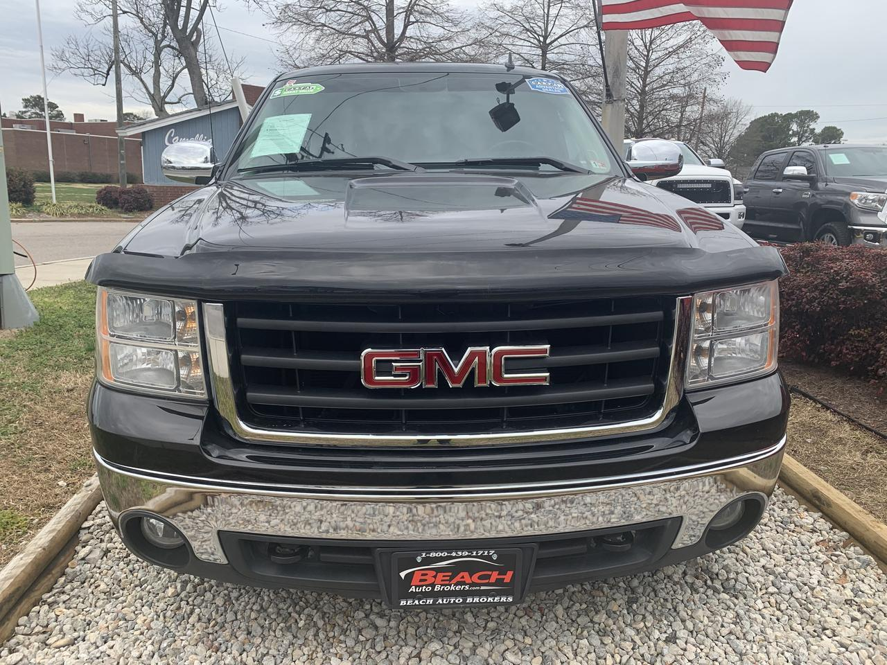 2007 GMC SIERRA 1500 SLT EXTENDED CAB 4X4, WARRANTY, LEATHER, SUNROOF, Z-71 OFF ROAD PKG, BLUETOOTH, LOW MILES! Norfolk VA