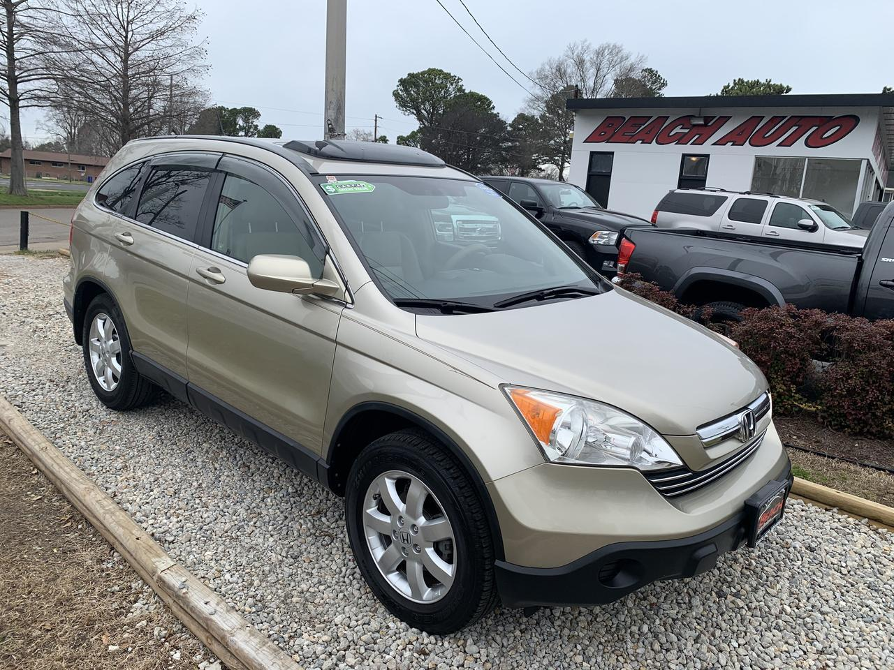 2007 HONDA CR-V EX-L, WARRANTY, LEATHER, HEATED SEATS, AUX PORT, SUNROOF, 1 OWNER ONLY 34K ORIGINAL MILES! Norfolk VA