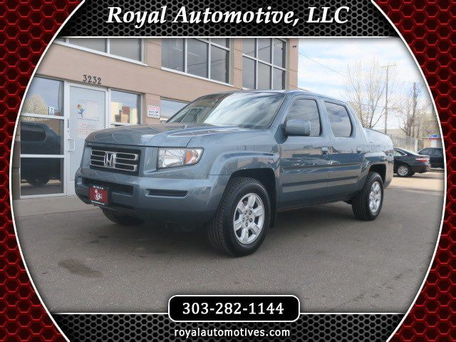 2007 HONDA RIDGELINE RTL w/Leather & Navi Englewood CO