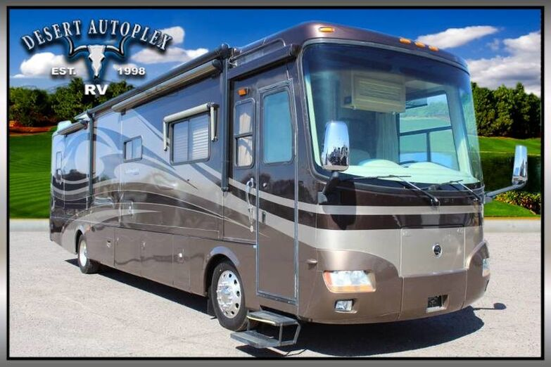 2007 Holiday Rambler Ambassador 40PLQ Quad Slide Class A Diesel RV Treated w/Cilajet Anti-Microbial Fog Mesa AZ