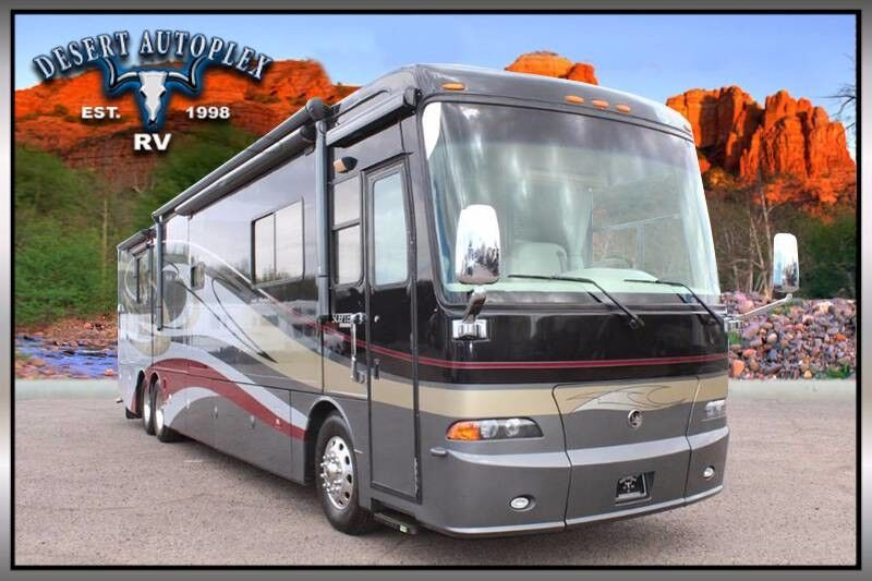 2007 Holiday Rambler Scepter 42PDQ Quad Slide Class A Diesel RV Mesa AZ