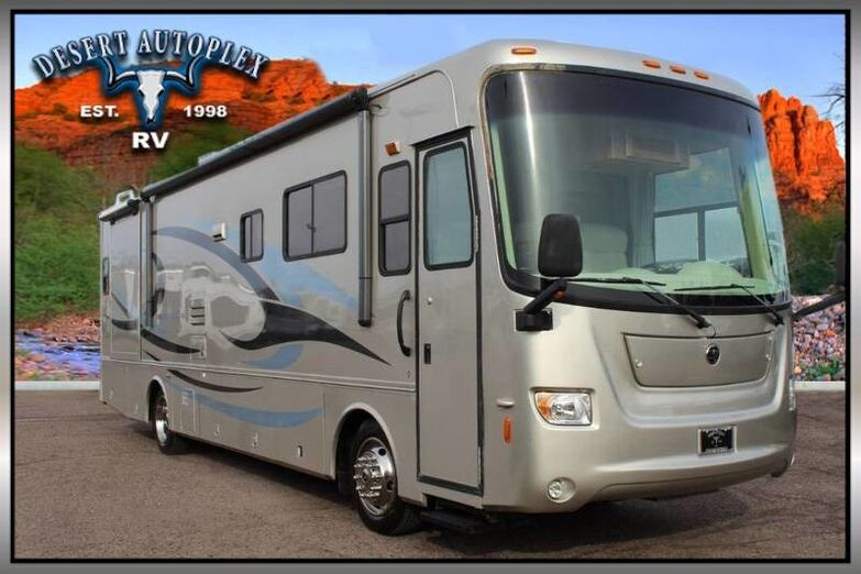 2007 Holiday Rambler Vacationer 36WBD Double Slide Class A Diesel Pusher Mesa AZ