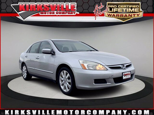 2007 Honda Accord Sdn 4dr V6 AT LX SE Kirksville MO