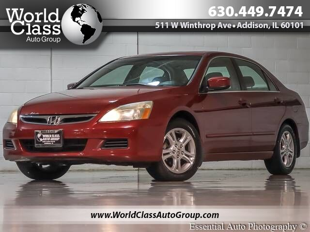 2007 Honda Accord Sdn EX - SUN ROOF ALLOY WHEELS CLEAN Chicago IL