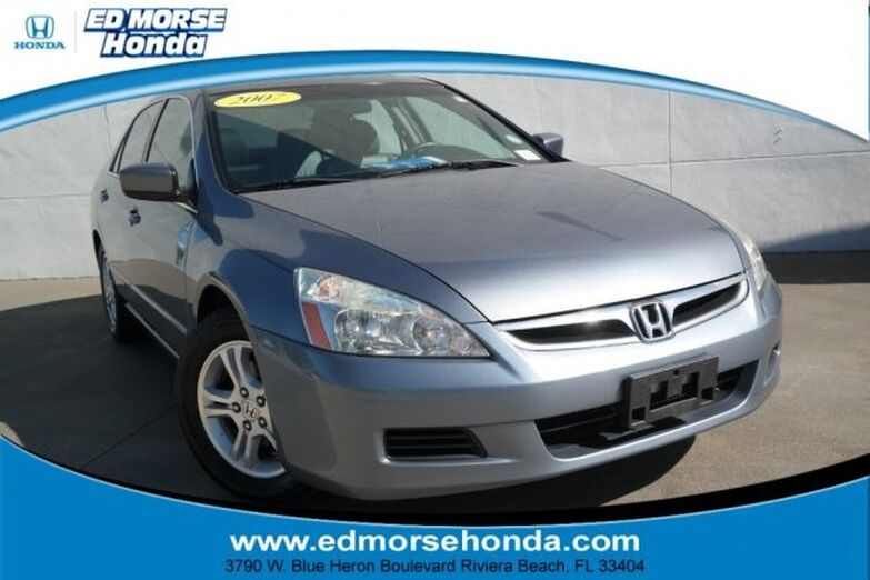 2007 Honda Accord Sedan 4dr I4 AT EX-L Riviera Beach FL