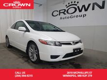 2007_Honda_Civic Cpe_Si / Accident-Free history / Manual transmission / Sunroof_ Winnipeg MB