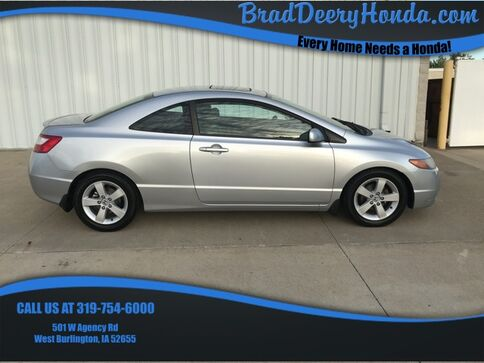 2007_Honda_Civic_EX_ West Burlington IA