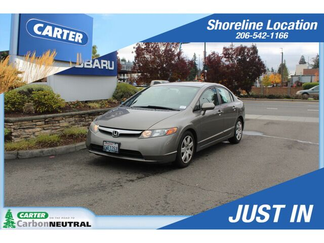 2007 Honda Civic LX Sedan Seattle WA