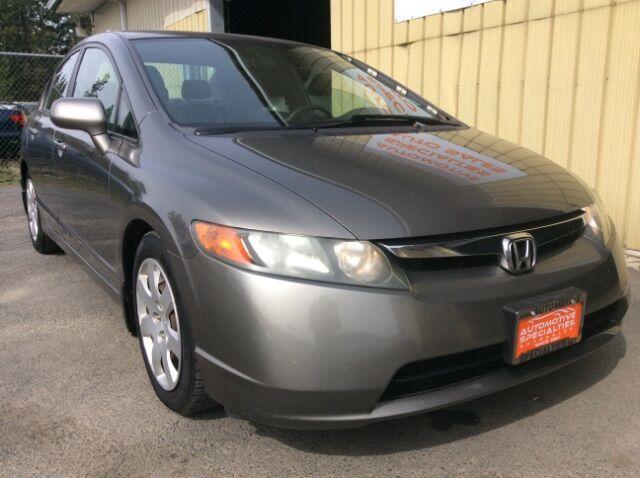 2007 Honda Civic LX Sedan Spokane WA
