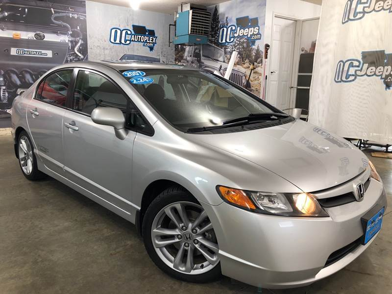 2007 Honda Civic Si 4dr Sedan