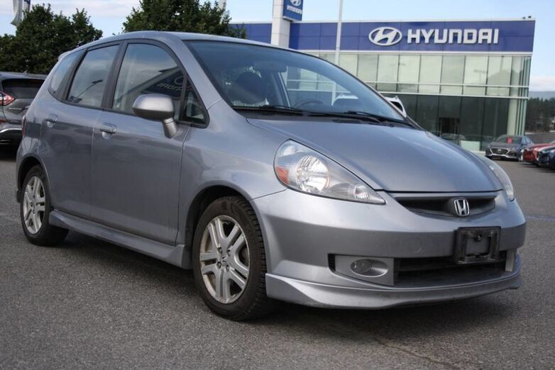 2007 Honda Fit Sport One owner Kelowna BC