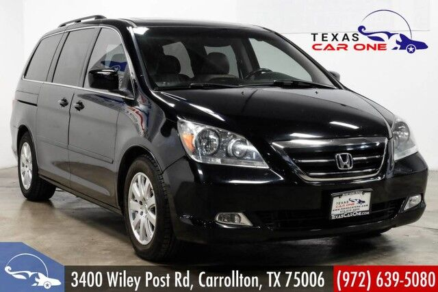 2007 Honda Odyssey TOURING NAVIGATION TV ENTERTAINMENT SUNROOF LEATHER HEATED SEATS REAR CAMERA Carrollton TX