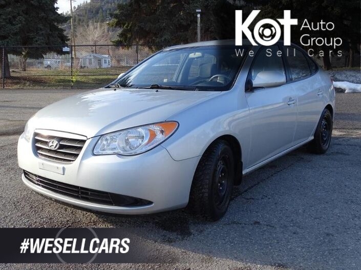 2007 Hyundai Elantra GL, Low KM's! Heated Seats Kelowna BC
