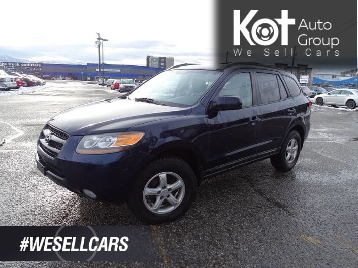 2007 Hyundai Santa Fe GL 5Pass, Great Family Vehicle Kelowna BC