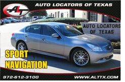 2007_INFINITI_G35 Sedan_Sport with NAVIGATION_ Plano TX