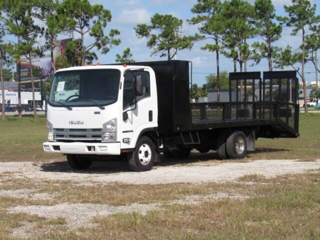 2007 Isuzu NPR 14+4 Steel Dovetail Flatbed Homestead FL