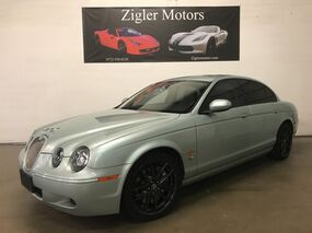 Jaguar S-TYPE R V8 Supercharged 400hp Two Owner Clean Carfax Low miles 2007