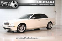 2007_Jaguar_XJ_XJ8 - WOOD GRAIN INTERIOR POWER HEATED LEATHER SEATS PARKING SENSORS SUN ROOF ALLOY WHEELS_ Chicago IL