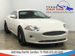 2007_Jaguar_XK Coupe_NAVIGATION LEATHER HEATED SEATS KEYLESS START PARKING DISTANCE C_ Carrollton TX